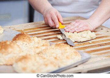 panadero, trabajo