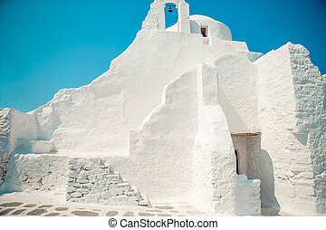 panagia, église, grèce, mykonos ile, paraportiani