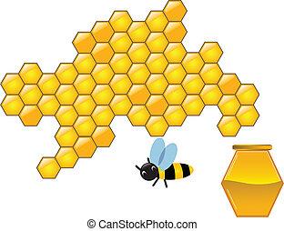 panales, abeja