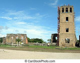 panama 163 - cathedral reconstruction viejo (old) panama 163