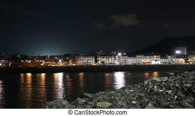 Panama City, Casco Viejo in the nig