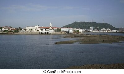 Panama City, Casco Viejo, timelapse