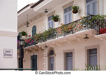 Panama City old casco viejo antiguo house - Tourist ...