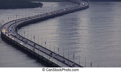 Panama City Traffic And Cars - Central America and Panama...