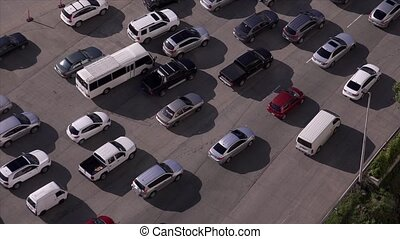 Panama City Traffic Car Jam - Panama City and transportation...