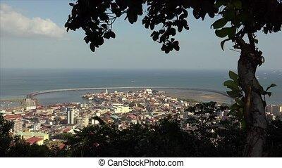 Panama City View Of Casco Antiguo