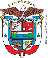Panama coa - Various vector flags, state symbols, emblems of...