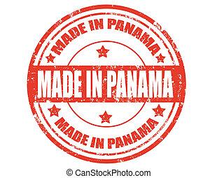 panama-stamp, hecho