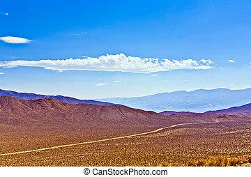 Panamint Valley desert