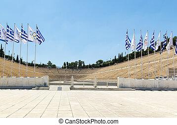 Panathenaic Stadium, Athens - The Panathenaic Stadium is an...