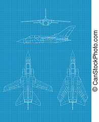 Panavia Tornado - High detailed vector illustration of a...