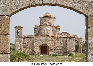 Panayia Kanakaria 6th century Byzantine Church originally...