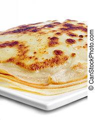 pancake on plate