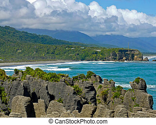 Pancake Rocks, Paparoa National Park, New Zealand - These ...