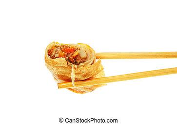 Pancake roll in cposticks