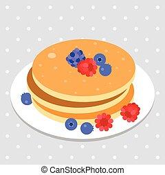 Pancake vector