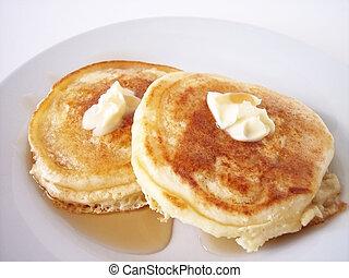 Pancakes 4 - pancakes taken in natural light