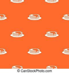 Pancakes pattern seamless - Pancakes pattern repeat seamless...