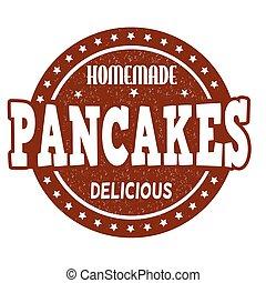 pancakes, stämpel
