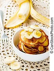 pancakes with banana