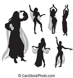 pancia, ballo