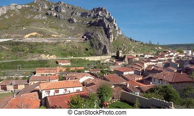 Pancorbo. Ancient touristic village in Burgos. Spain. -...