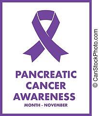 pancréatique, cancer, conscience