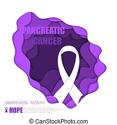 pancréatique, cancer, fond