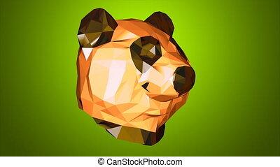panda, 4k