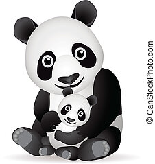 panda, famiglia