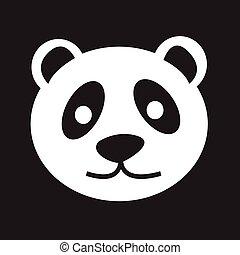 panda, icône