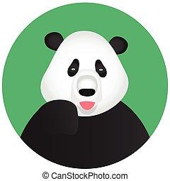Panda icon mobile app