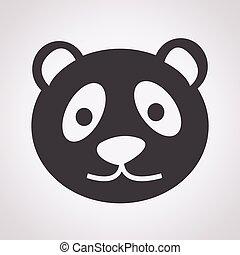 panda, ikon