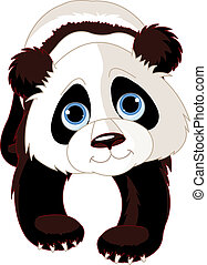 panda, marche