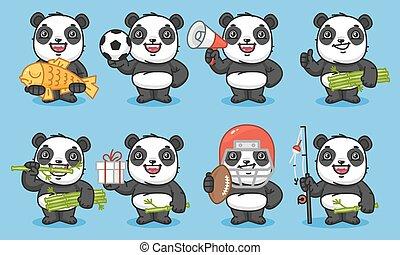 Panda Set Characters Part 2
