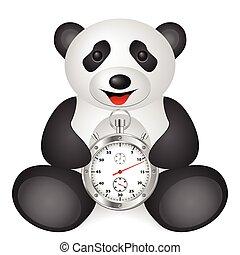 panda stopwatch
