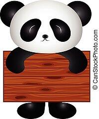 panda, tabla
