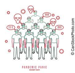 Pandemic Panic Icon