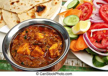 Paneer Kadai cheese curry