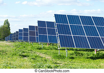 panel énergie solaires