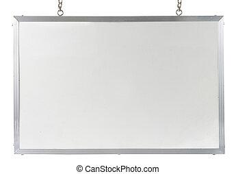 panel blanco