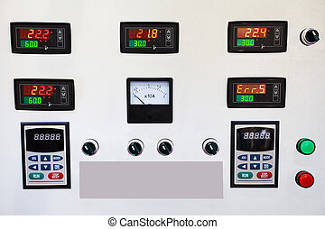 panel board - Different devices on a panel board