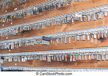 panel keys to a locksmith