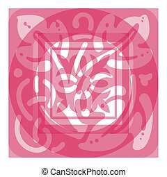 Panel scroll designe - Ornate Panel Scrolled Design
