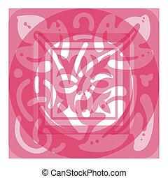 Panel scroll designe - Ornate Panel Scrolled Design