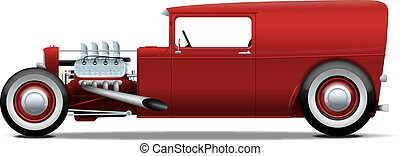 panel wagon hot-rod