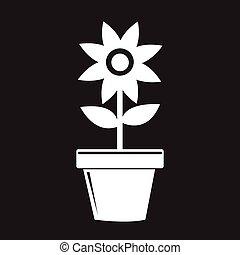 panela flor, ícone