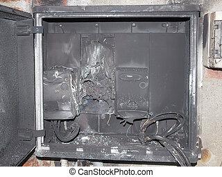 Panelboard damaged by surge - Distribution board breaker...