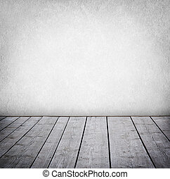 paneled, grunge , τοίχοs , πάτωμα , room., ξύλο , εσωτερικός