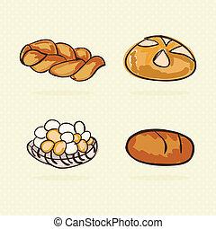 panetteria, icone